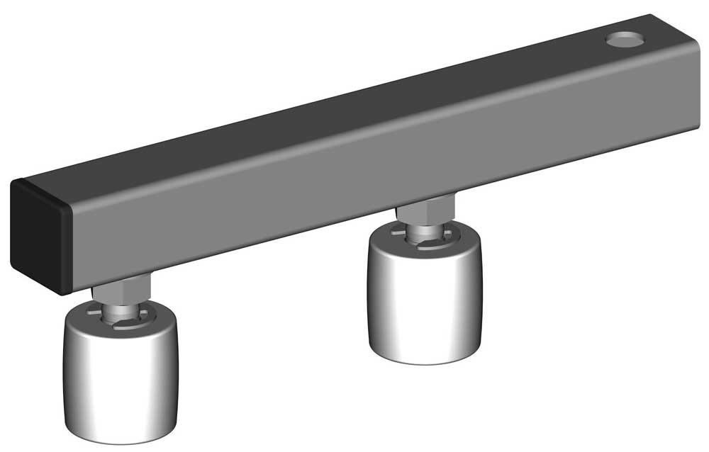 fiche article 22618 tube 50x50 souder l 397 pour guidage r glable avec 2 olives ref 118. Black Bedroom Furniture Sets. Home Design Ideas